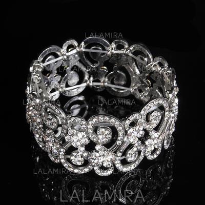 "Armbånd Legering/Rhinestones Damene ' Mote 7.48""(Ca. 19cm) Bryllup- & Festsmykker (011107496)"
