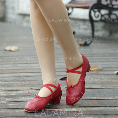 Women's Ballet Real Leather Dance Shoes (053181350)