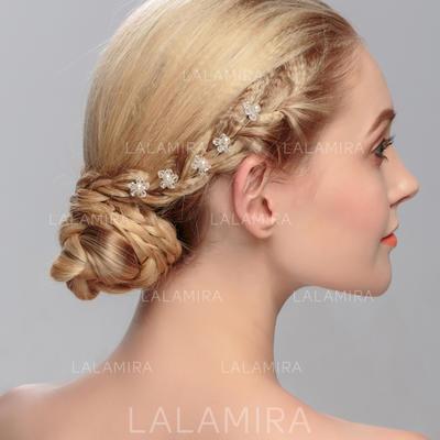 "Hairpins Wedding Rhinestone/Alloy 6.3""(Approx.16cm) 4.72""(Approx.12cm) Headpieces (042158076)"