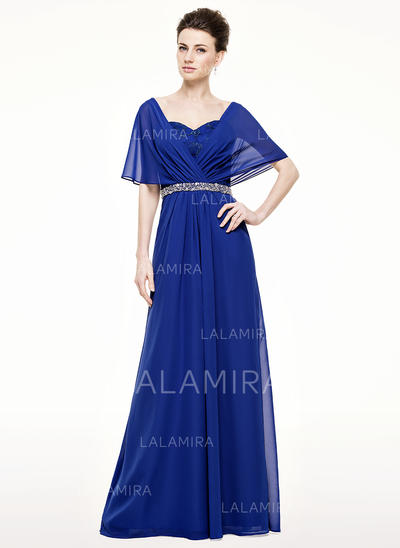 A-Line/Princess Chiffon Newest Sweetheart Mother of the Bride Dresses (008210623)