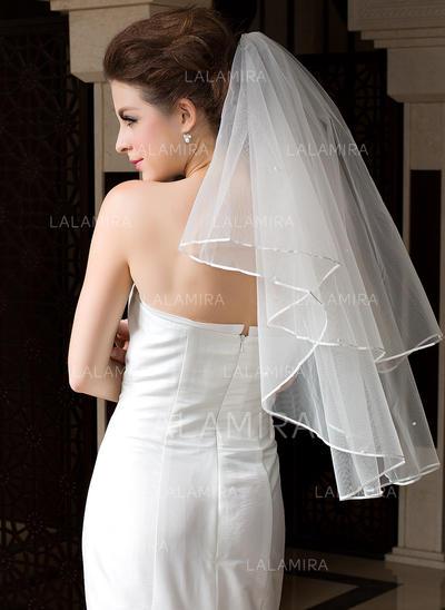 Velos de novia vals Tul Uno capa Estilo clásico con Con lazo Velos de novia (006036606)