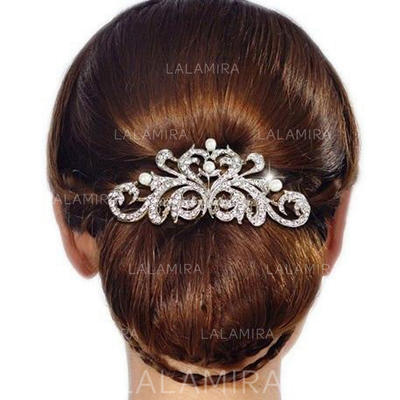 """Combs & Barrettes Wedding/Casual/Party/Art photography Rhinestone 3.74""""(Approx.9.5cm) 2.36""""(Approx.6cm) Headpieces (042159117)"""