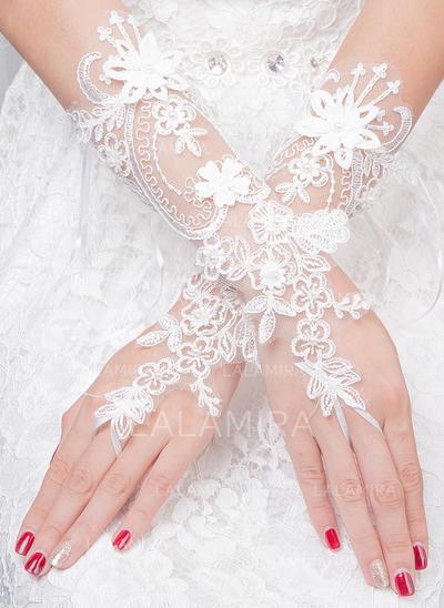 Tulle Ladies' Gloves Bridal Gloves Fingerless 30cm(Approx.11.81inch) Gloves (014192233)