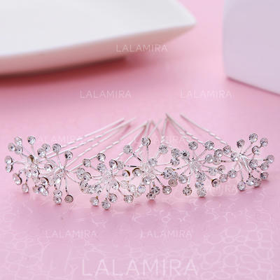 Hairpins Wedding/Party Alloy Beautiful Ladies Headpieces (042158774)