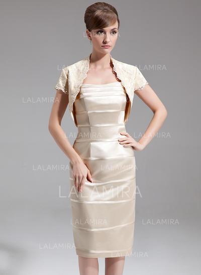 Forme Fourreau Amoureux Charmeuse Flatteur Robes mère de la mariée (008213112)