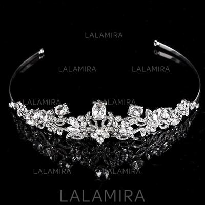 Tiaras Wedding/Special Occasion/Party/Carnival Rhinestone/Alloy Unique Ladies Headpieces (042158256)