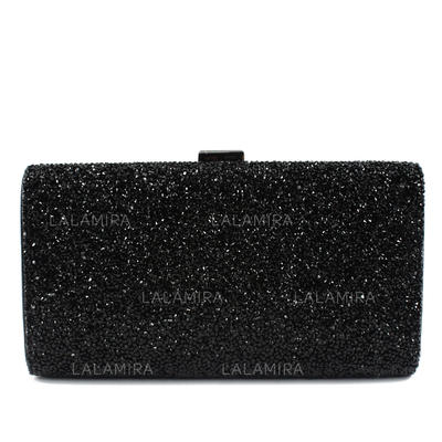 Clutches Wedding/Ceremony & Party PU Clip Closure Elegant Clutches & Evening Bags (012185210)