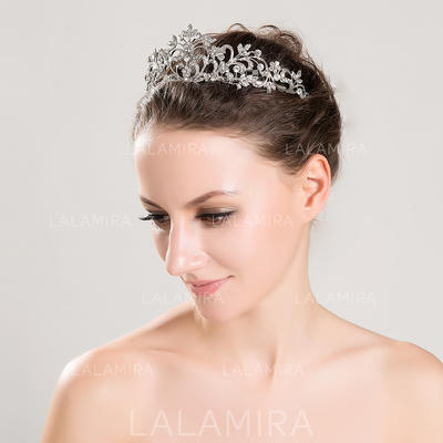 """Tiaras Wedding/Special Occasion Alloy 5.91""""(Approx.15cm) 2.36""""(Approx.6cm) Headpieces (042153667)"""