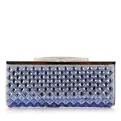 "Clutches Wedding/Ceremony & Party PU Rhinestone Style 6.69""(Approx.17cm) Clutches & Evening Bags (012185655)"