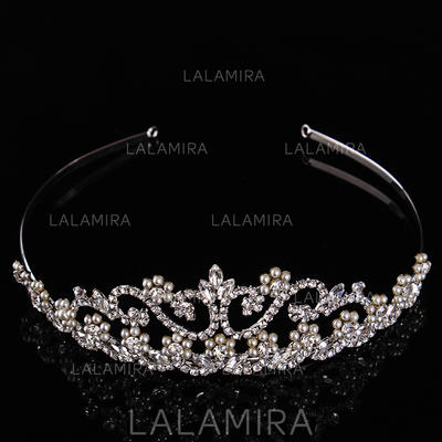 Tiaras Wedding/Special Occasion Rhinestone/Alloy/Imitation Pearls Beautiful Color & Style representation may vary by monitor Headpieces (042157184)