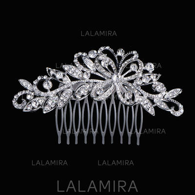 "Combs & Barrettes Wedding Rhinestone/Alloy 3.94""(Approx.10cm) 2.36""(Approx.6cm) Headpieces (042158425)"