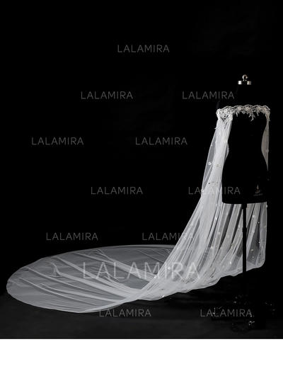 Wrap Wedding Lace Tulle With Appliques Lace Wraps (013150153)