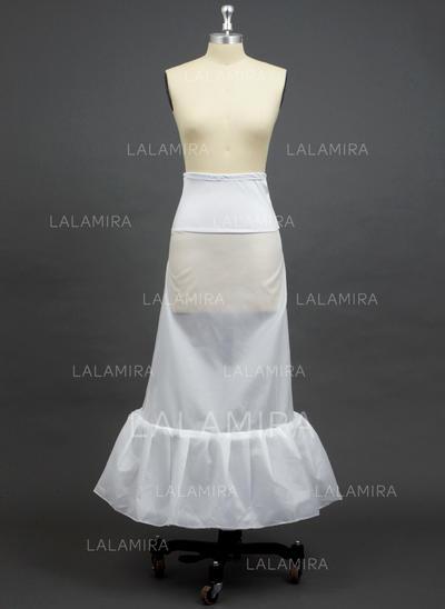 Petticoats Floor-length Polyester/Spandex A-Line Slip 1 Tiers Petticoats (037190720)