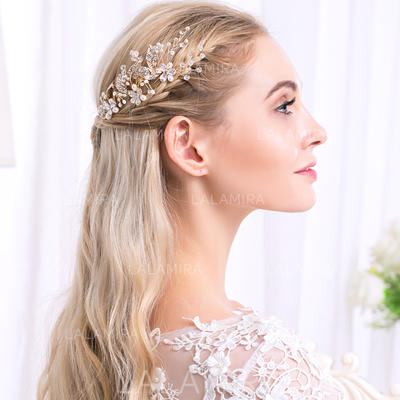 """Hairpins Wedding/Special Occasion/Party Alloy 2.36""""(Approx.6cm) 4.72""""(Approx.12cm) Headpieces (042157518)"""
