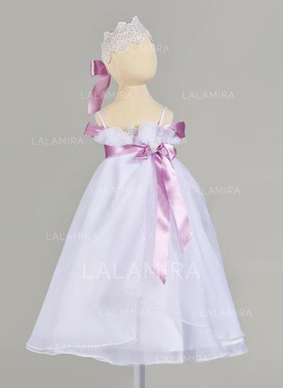 Tul Correas de hombro Encaje Vestidos de bautizo para bebés con Sin mangas (2001217402)