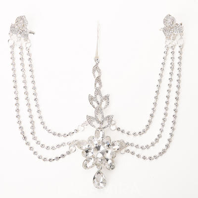 """Forehead Jewelry Wedding/Special Occasion Crystal/Alloy/Plastic 5.12""""(Approx.13cm) Luxurious Headpieces (042156736)"""
