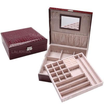 """Jewelry Box Wood 10.24""""(Approx.26cm) 10.24""""(Approx.26cm) Wedding & Party Jewelry (011168120)"""