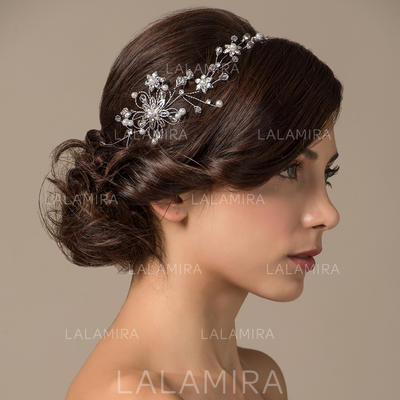 """Headbands Wedding/Special Occasion Copper 4.33""""(Approx.11cm) 2.36""""(Approx.6cm) Headpieces (042153655)"""
