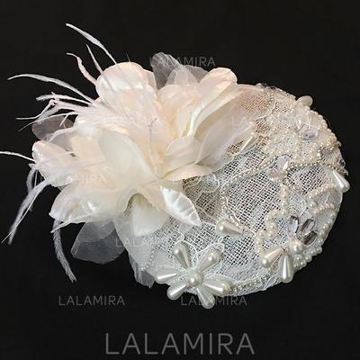 Tulle Fascinators Elegant Hats (196194924)