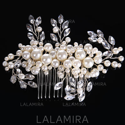 """Combs & Barrettes Wedding/Special Occasion Alloy/Imitation Pearls 5.12""""(Approx.13cm) 3.15""""(Approx.8cm) Headpieces (042158667)"""
