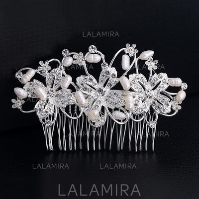 "Combs & Barrettes Wedding/Special Occasion Rhinestone/Alloy 4.33""(Approx.11cm) 2.67""(Approx.6.8cm) Headpieces (042158786)"