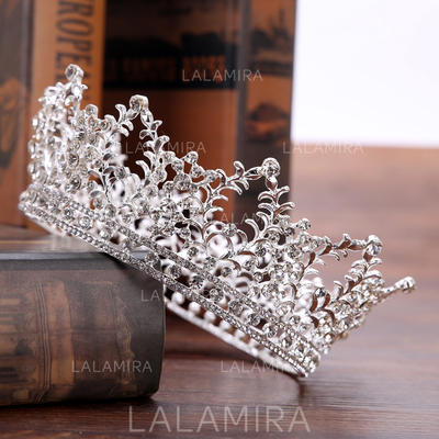 "Tiaras Wedding/Special Occasion/Party/Carnival Rhinestone/Alloy 5.31""(Approx.13.5cm) 2.36""(Approx.6cm) Headpieces (042158969)"