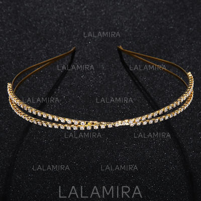 Tiaras Wedding/Special Occasion/Party Alloy Lovely The color of embellishments are shown as picture/Color & Style representation may vary by monitor Headpieces (042156524)