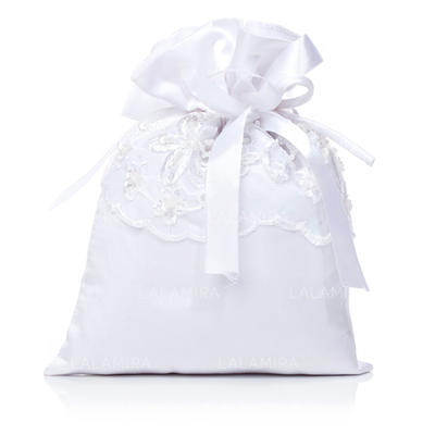 Bridal Purse Wedding Satin Tether closure Gorgeous Clutches & Evening Bags (012184502)