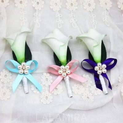 "Boutonniere/Men's Accessories Free-Form Wedding Ribbon 4.72""(Approx.12cm) Wedding Flowers (123189124)"