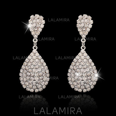 Earrings Alloy/Crystal Pierced Ladies' Elegant Wedding & Party Jewelry (011160520)