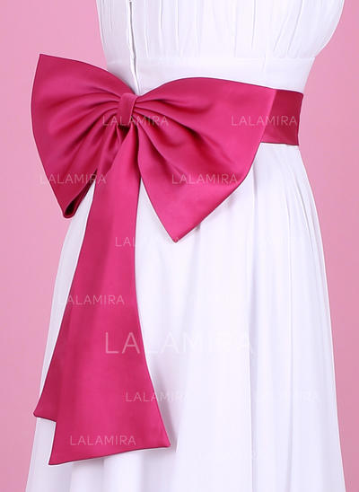 Women Satin With Bow Sash Nice Sashes & Belts (015190900)