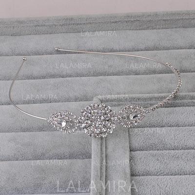 """Tiaras Wedding Rhinestone/Alloy 4.53""""(Approx.11.5cm) 0.98""""(Approx.2.5cm) Headpieces (042158073)"""