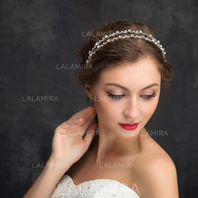 "Headbands Wedding/Special Occasion/Party Rhinestone/Alloy 5.91""(Approx.15cm) 0.36""(Approx.0.9cm) Headpieces (042158022)"