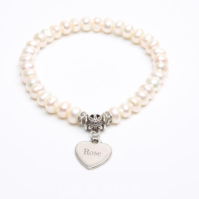 "Bracelets Pearl Ladies' Personalized 2.76""(Approx.7cm) Wedding & Party Jewelry (011164732)"