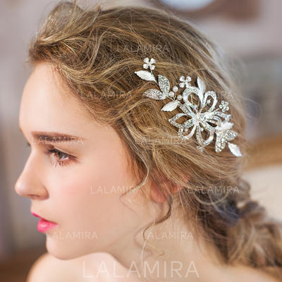 "Combs & Barrettes Wedding/Special Occasion/Party/Art photography Rhinestone/Imitation Pearls 4.92""(Approx.12.5cm) 2.36""(Approx.6cm) Headpieces (042156671)"
