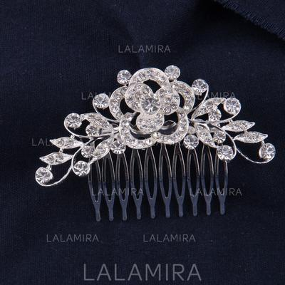 "Combs & Barrettes Wedding/Special Occasion/Casual Rhinestone/Alloy 3.54""(Approx.9cm) Glamourous Headpieces (042155890)"
