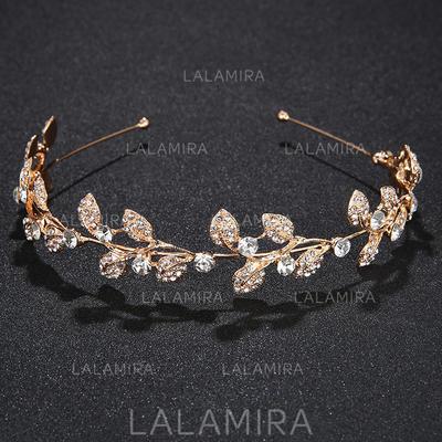 """Tiaras Wedding/Special Occasion/Party Alloy 5.12""""(Approx.13cm) 1.18""""(Approx.3cm) Headpieces (042157492)"""