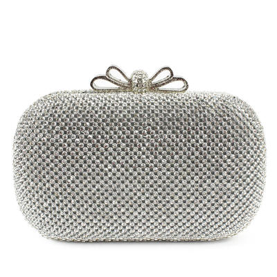"Clutches Wedding/Ceremony & Party Clip Closure Shining 6.3""(Approx.16cm) Clutches & Evening Bags (012185213)"