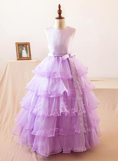 Ball Gown Floor-length Flower Girl Dress