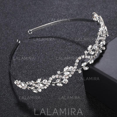 "Tiaras/Headbands Wedding/Special Occasion/Party Alloy 4.92""(Approx.12.5cm) 0.67""(Approx.1.7cm) Headpieces (042156911)"