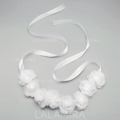 """Headbands Wedding/Special Occasion/Party Tulle 10.63""""(Approx.27cm) 1.97""""(Approx.5cm) Headpieces (042154868)"""