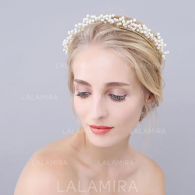 "Headbands Wedding/Special Occasion/Party Alloy/Imitation Pearls 6.69""(Approx.17cm) 6.69""(Approx.17cm) Headpieces (042157140)"