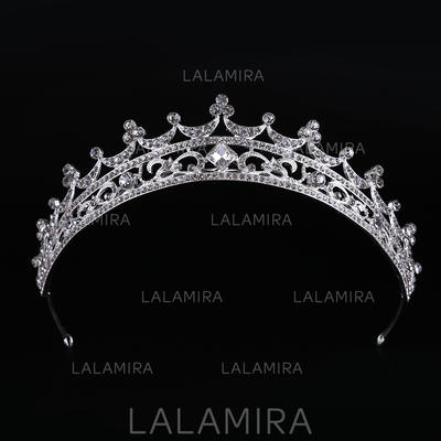"Tiaras Wedding/Special Occasion Rhinestone/Alloy 10.83""(Approx.27.5cm) 1.57""(Approx.4cm) Headpieces (042158681)"