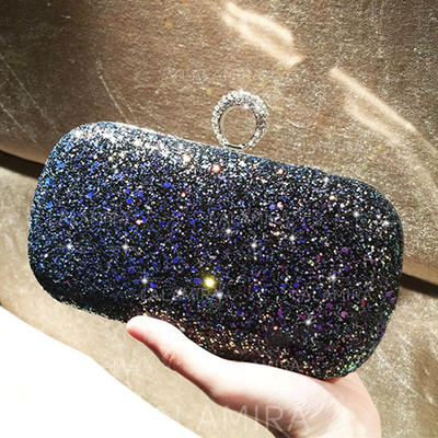"Clutches/Satchel Ceremony & Party Sequin Shining 7.48""(Approx.19cm) Clutches & Evening Bags (012187285)"