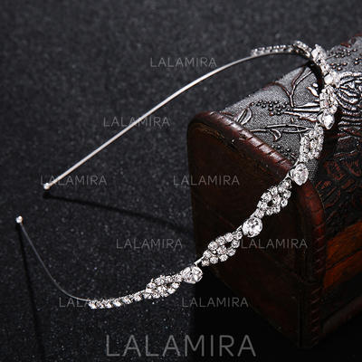 "Tiaras Wedding/Special Occasion/Party Alloy 5.12""(Approx.13cm) 0.24""(Approx.0.6cm) Headpieces (042157474)"