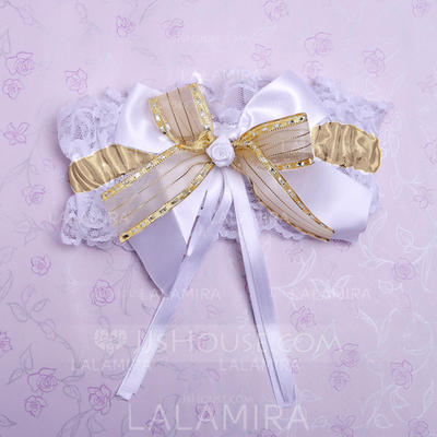 Garters Bridal Wedding/Special Occasion Lace With Bowknot Garter (104196148)