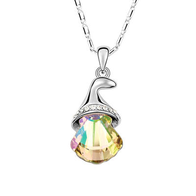 Necklaces Crystal/Platinum Plated Lobster Clasp Ladies'/Child's Christmas Bell Wedding & Party Jewelry (011165016)