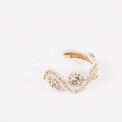 "Håndledd Corsage Bryllup Rhinestone 0.79""(Ca. 2cm) 1.57""(Ca. 4cm) Bryllupsblomster (123094504)"