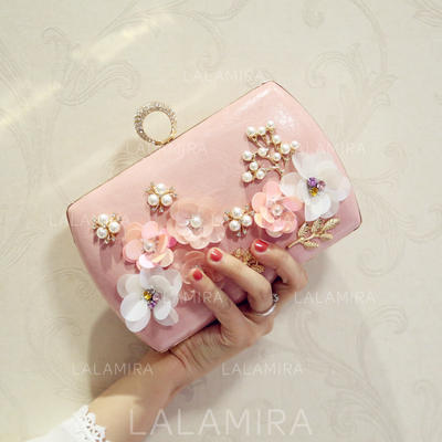 """Clutches Wedding/Ceremony & Party/Casual & Shopping/Office & Career PU Elegant 7.87""""(Approx.20cm) Clutches & Evening Bags (012188067)"""
