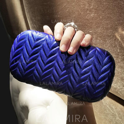 Clutches Ceremony & Party/Casual & Shopping PU Snap Closure Elegant Clutches & Evening Bags (012187708)